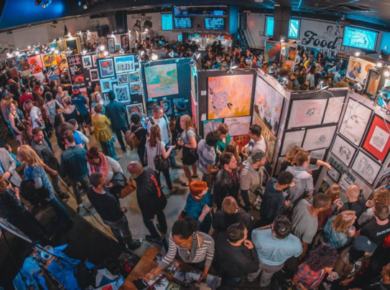 Pancakes & Booze Underground Art Show Coming Back To San Diego!
