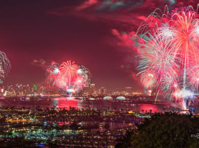 The 10 Best 4th Of July Fireworks Shows In San Diego
