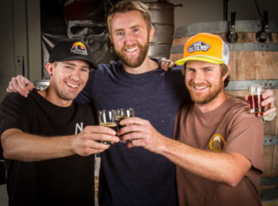 Burgeon Beer Company Founders Bring Their Passion For The Craft To Carlsbad
