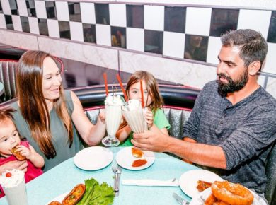 Indoors Re-Opening | The LOT Movies & Corvette Diner At Liberty Station