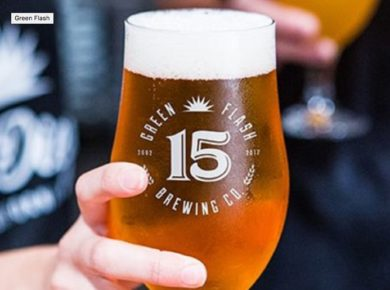 Time to Raise Your Glass, Green Flash Brewery is Celebrating Its 15th Birthday!