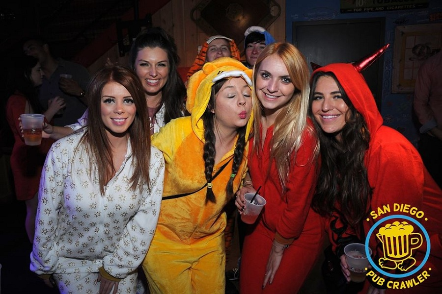 Join In The Fun At The Onesie Pajama Pub Crawl 2020