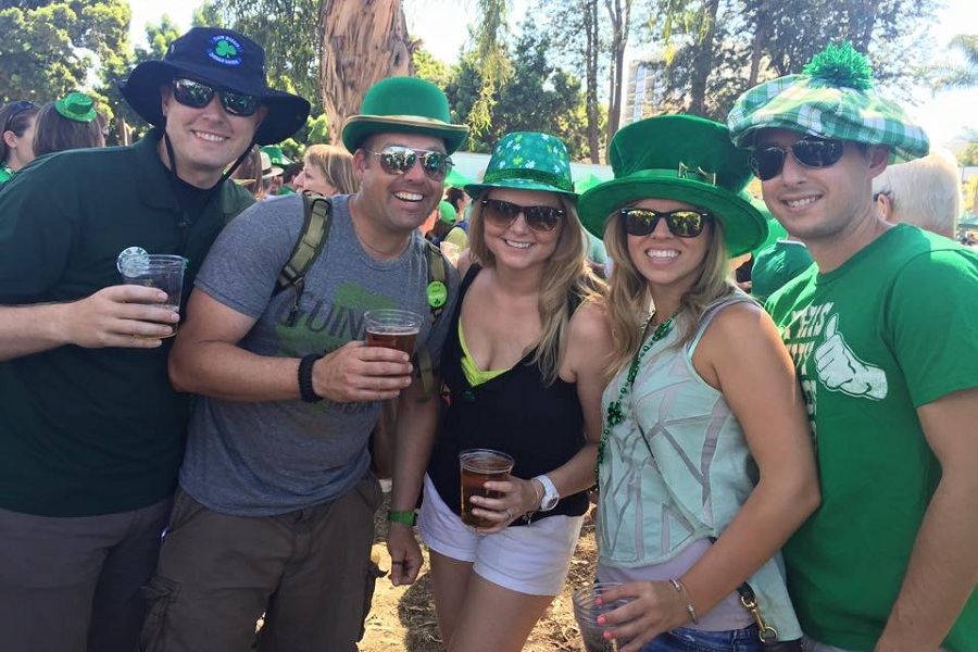 The 40th Annual San Diego St. Patrick's Day Parade & Festival