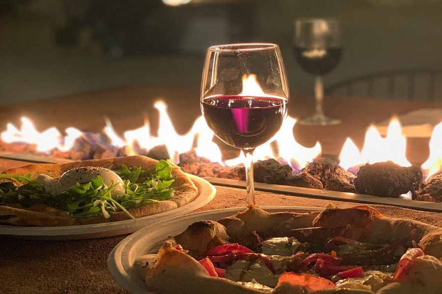 Dinner with wine at Bernardo Winery Nights
