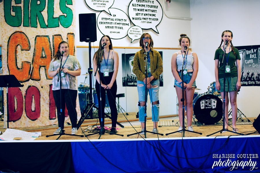 Rock N' Roll Camp For Girls San Diego Presents Annual Camper Showcase