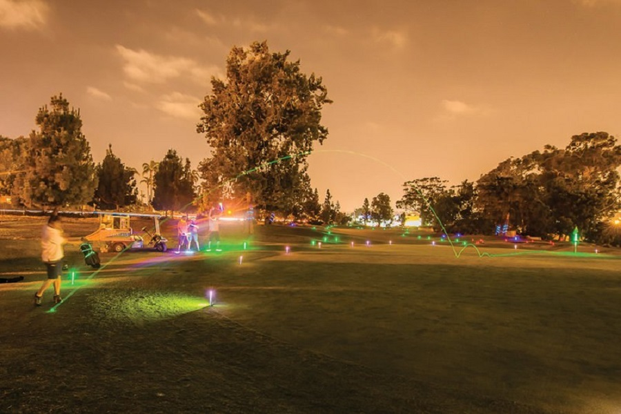 Glow-In-The-Dark Golf With Abnormal Beer Co.