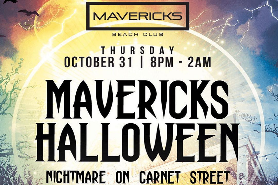 Mavericks Nightmare On Garnet Halloween Party