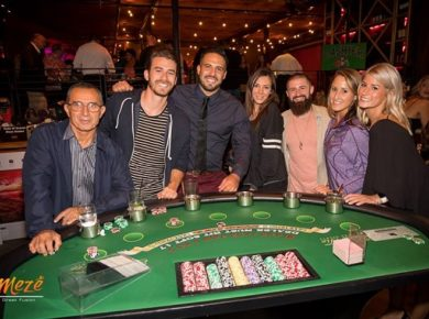 Try Your Luck At Mezé Greek Fusion's Third Annual Casino Night For Charity