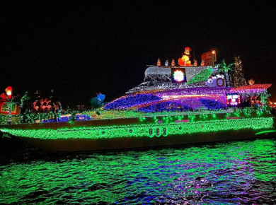 The 47th Annual San Diego Bay Parade Of Lights Is Back To Dazzle Us Yet Again